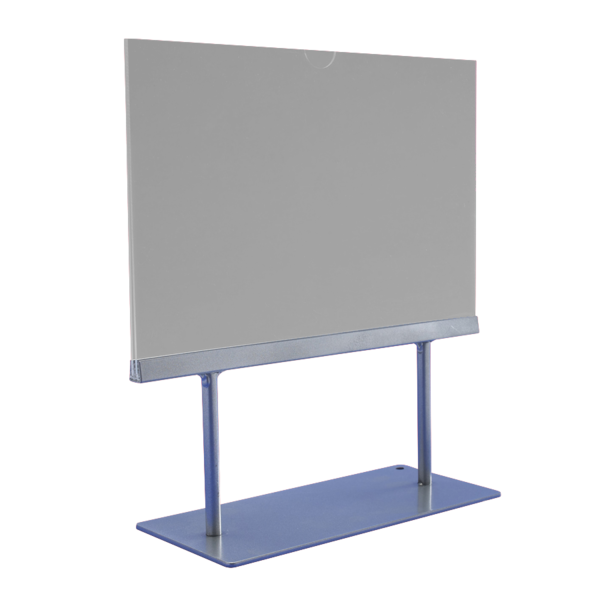 Acrylic Tabletop Sign Holder Sightline Display - Table top sign holders